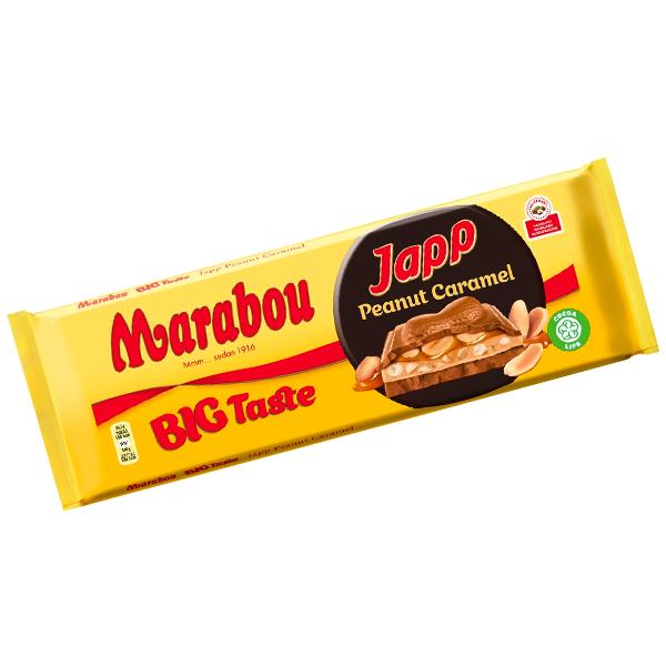 Japp Big Taste Peanut Caramel 276G