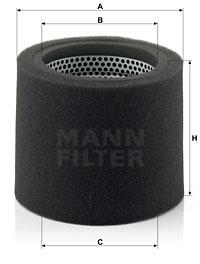 Ilmansuodatin MANN-FILTER CS 17 110