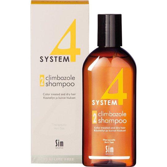 SIM Sensitive System 4 Climbazole Shampoo 2, 215 ml SIM Sensitive Shampoo