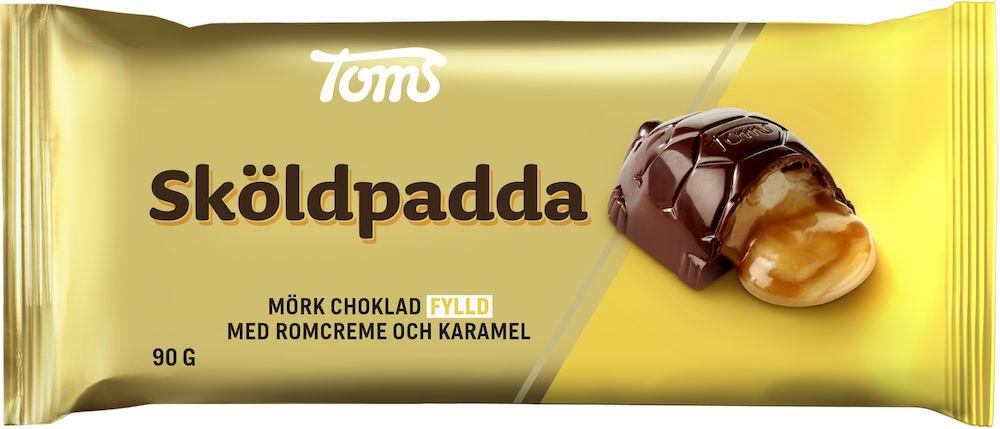 Toms Chokladkaka Sköldpadda 90g