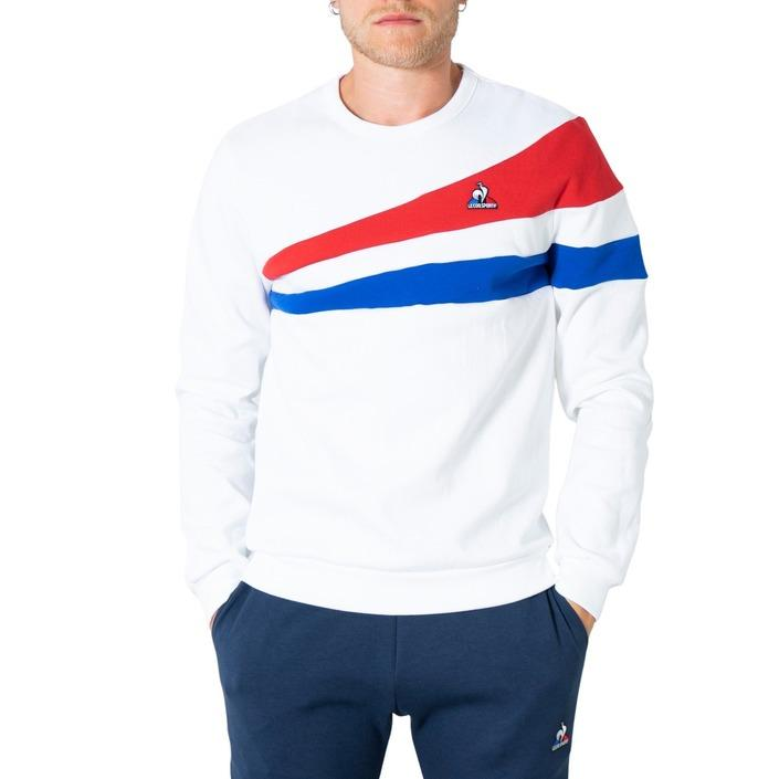 Le Coq Sportif Men's Sweatshirt White 305036 - white S
