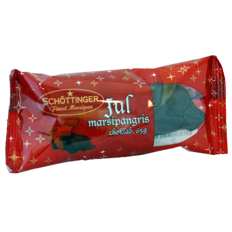 Marsipangris Mjölkchoklad - 75% rabatt