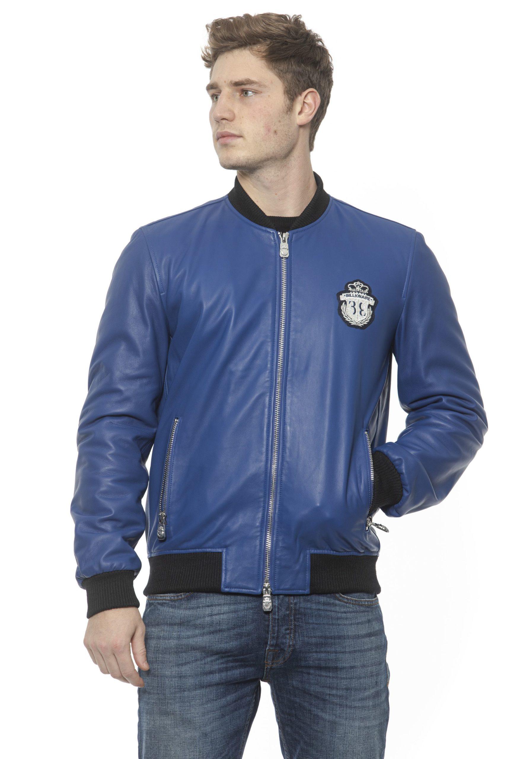 Billionaire Italian Couture Men's Bluette Jacket Blue BI1313459 - M