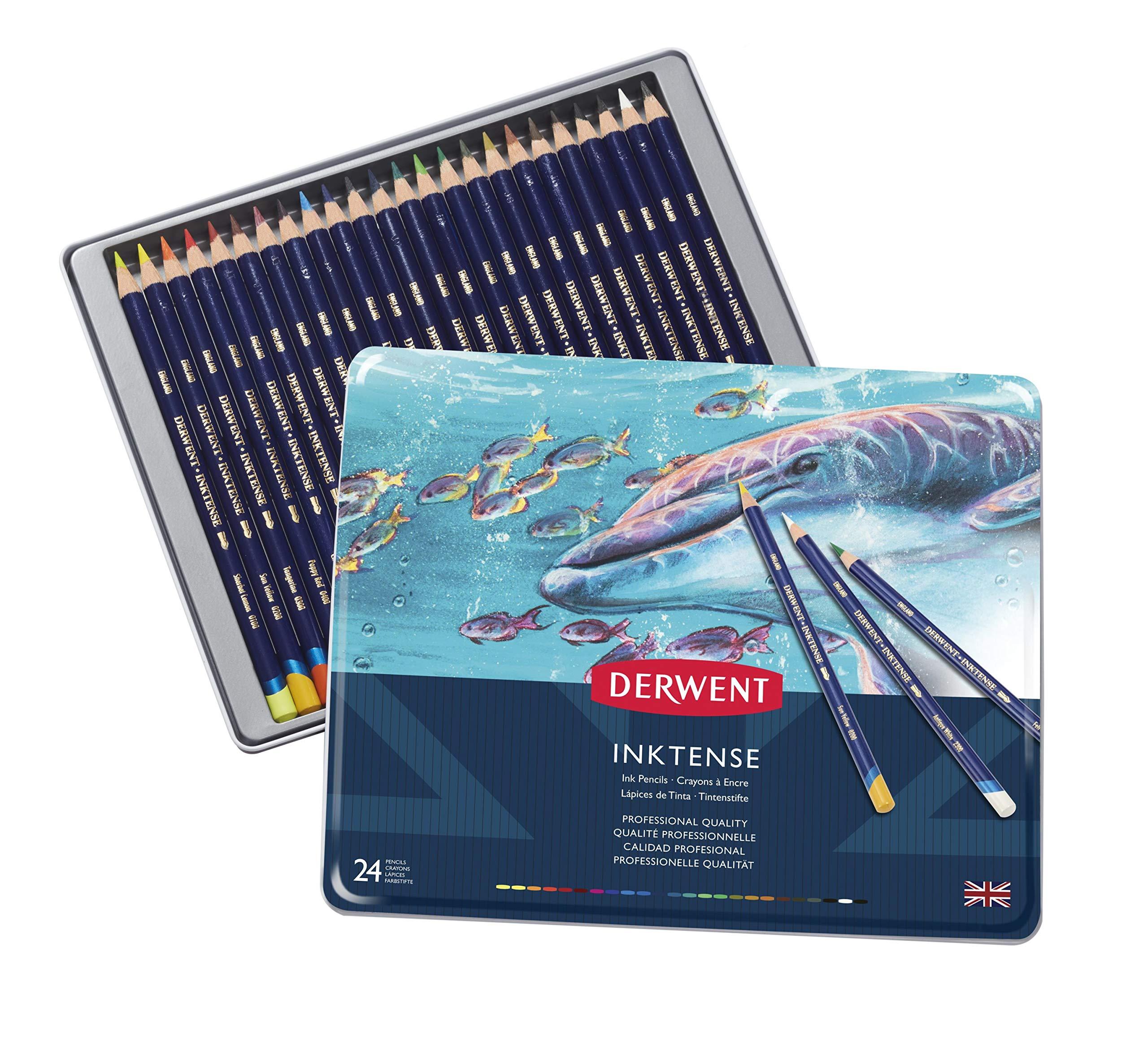 Derwent - Inktense Pencils, 24 Tin
