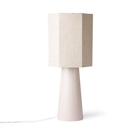 Kjegleformet Lampefot Medium Matt skinn