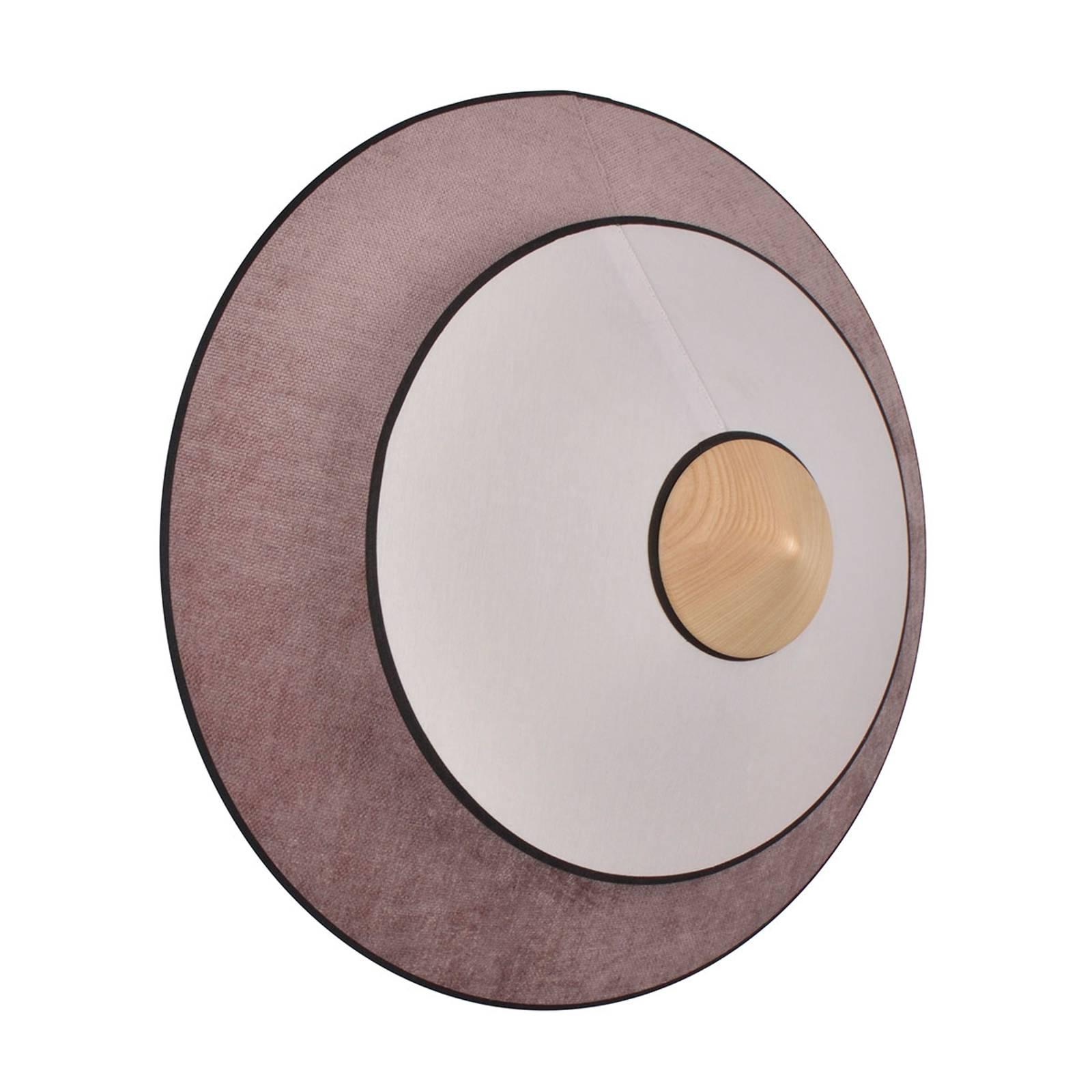 Forestier Cymbal S -LED-seinävalaisin puuteriroosa