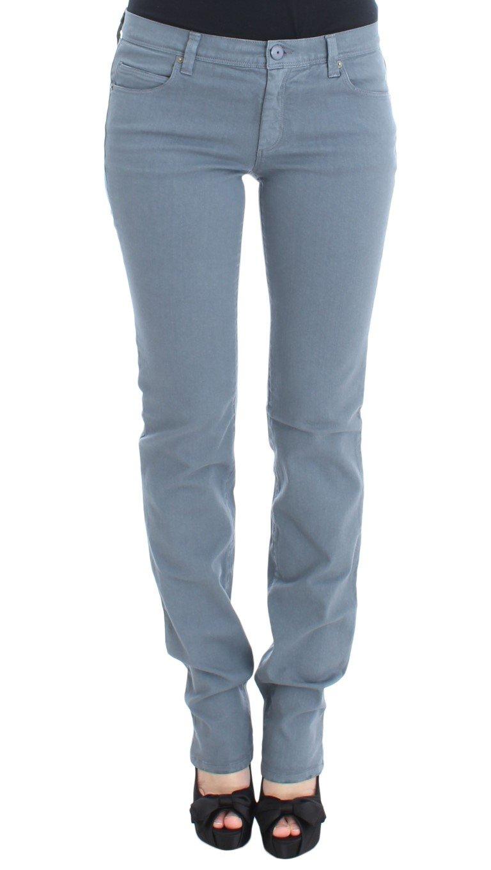 Ermanno Scervino Women's Blend Slim Fit Bootcut Jean Blue SIG30289 - W32