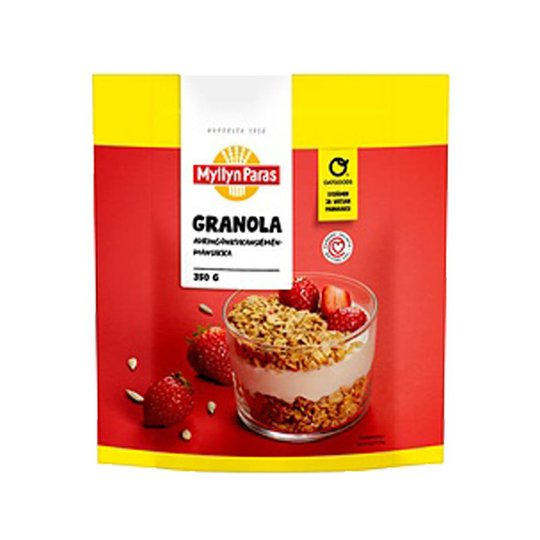 Granola Solrosfrö & jordgubbe - 29% rabatt