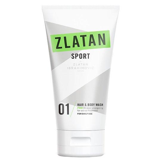Zlatan Sport FWD, 150 ml Zlatan Ibrahimovic Parfums Suihku- & Kylpytuotteet miehille
