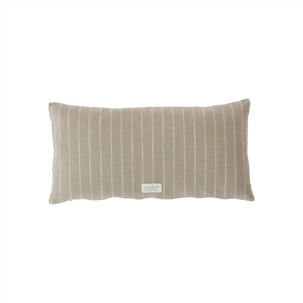 OYOY Living - Kyoto Long Organic Cushion - Clay