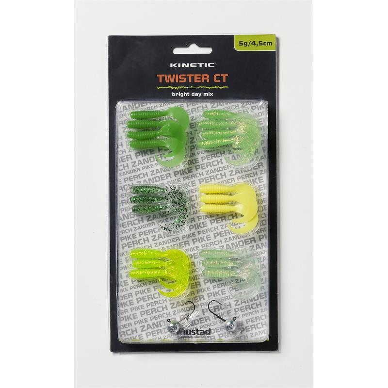 Kinetic Twister CT Jigg Kit 5g/4,5cm Bright Day Mix
