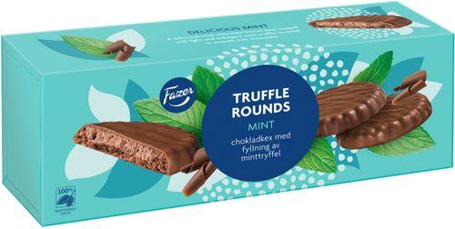 Fazer Truffle Rounds Mint 142g