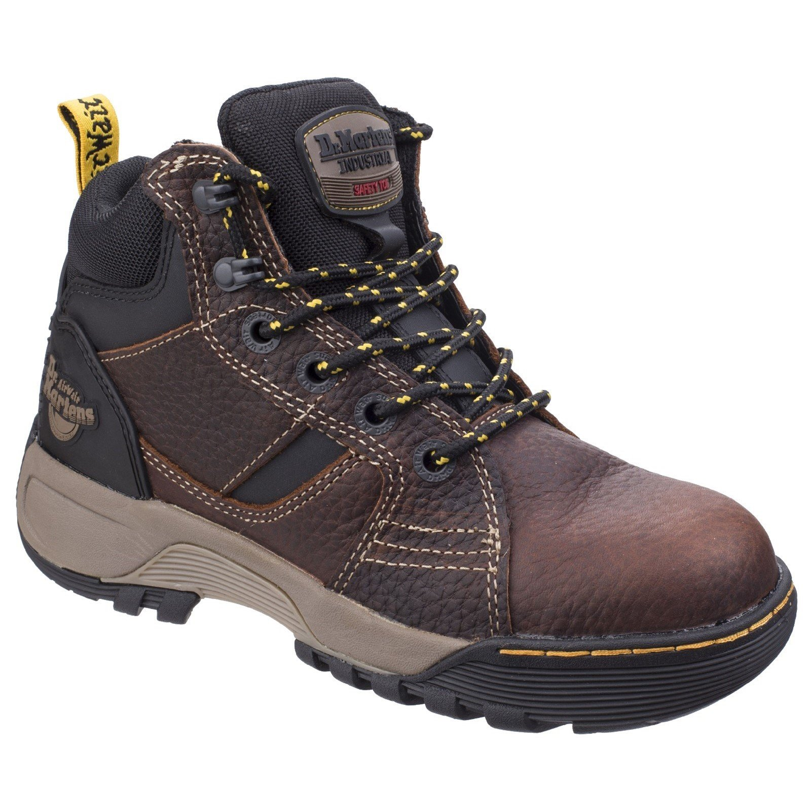 Dr Martens Men's Grapple Safety Boot Various Colours 26023 - Teak 4