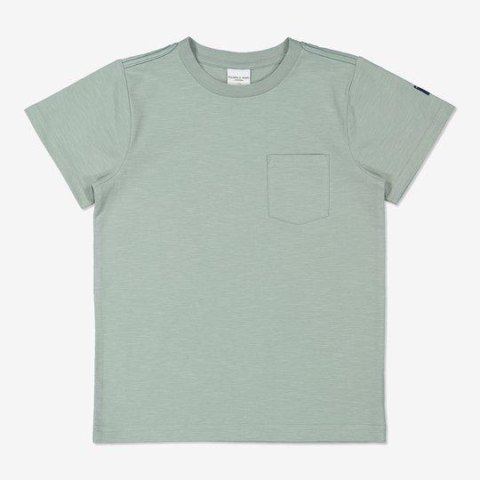 Ensfarget T-skjorte grønn
