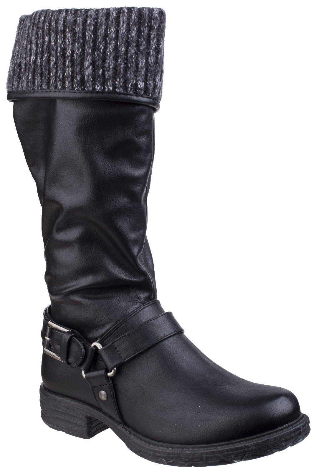 Divaz Women's Monroe Tall Boot Black 25568-42556 - Black 3