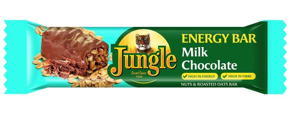 Jungle Energy Bar Milk Chocolate 48g