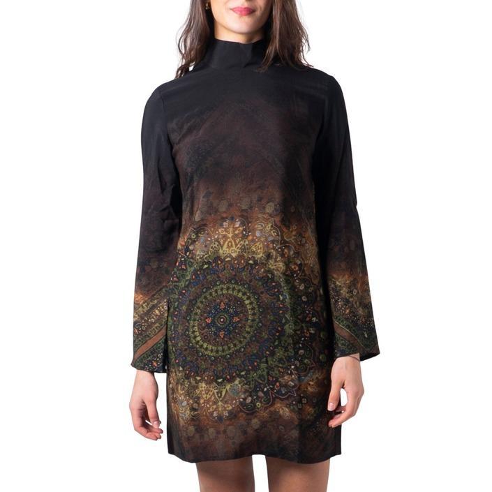 Desigual Women's Dress Black 183000 - black XS