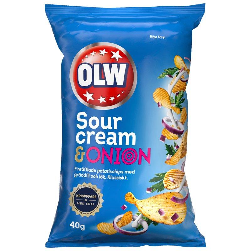 Chips Sourcream & Onion - 22% rabatt