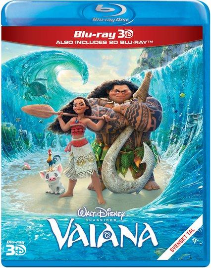 Disney Vaiana Blu-Ray 2D + 3D
