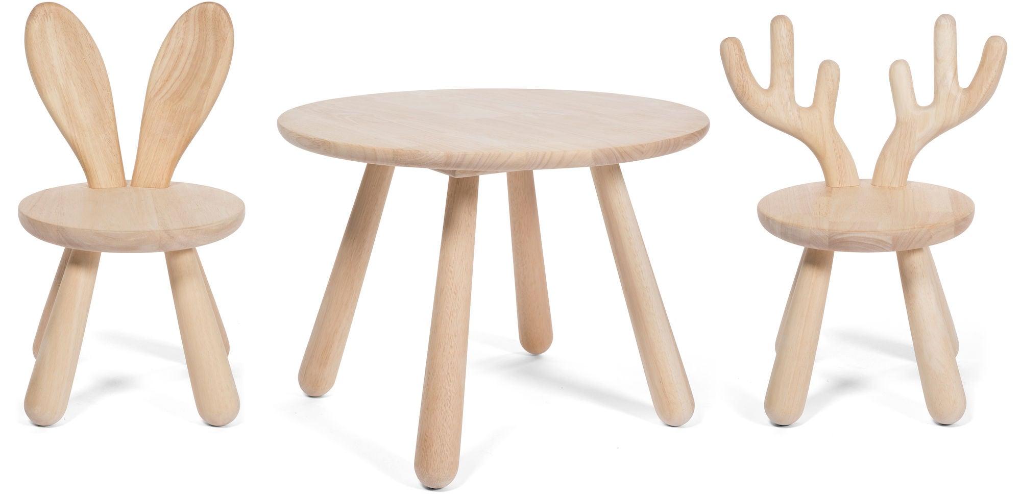 Minitude Nordic Usva Pöytä, Puu