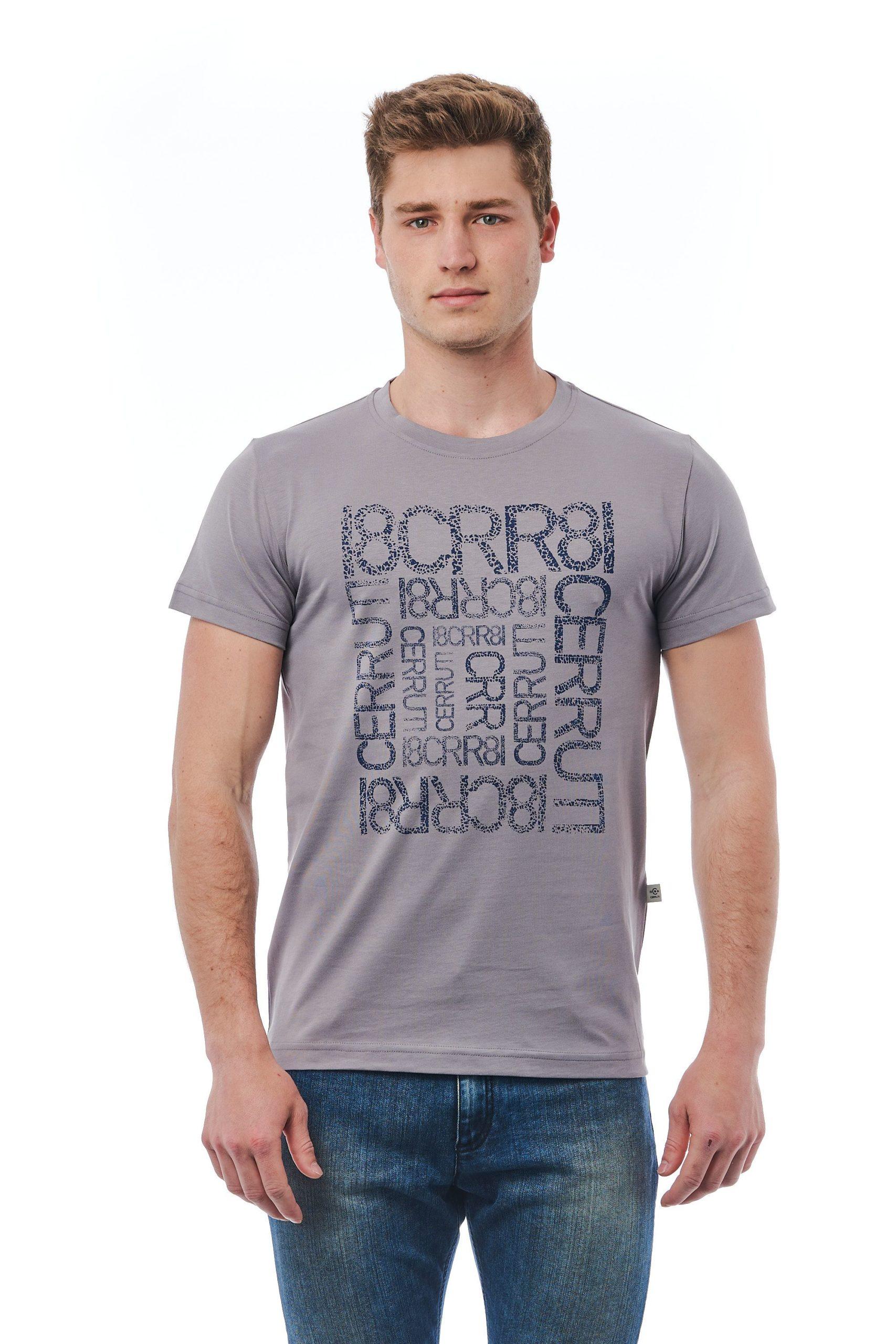 Cerruti 1881 Men's Grigio T-Shirt Grey CE1409956 - M