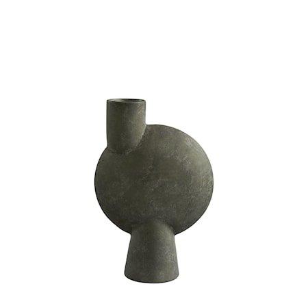 Sphere Vase Bubl Big Dark Grey