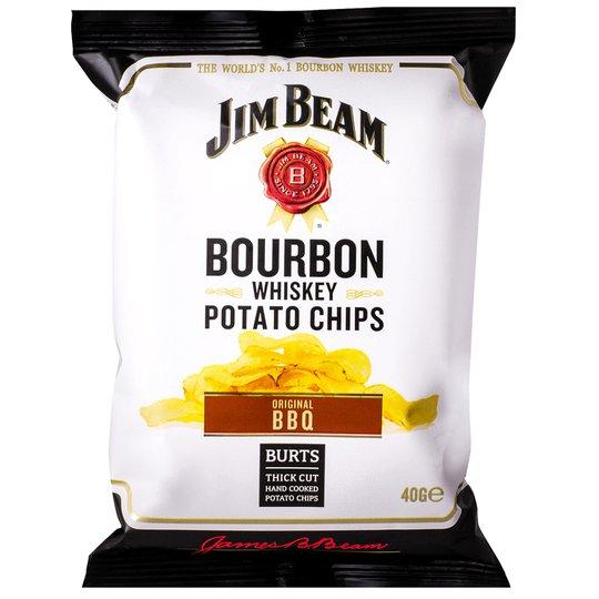 "Potatischips ""Bourbon Whiskey Bbq"" 40g - 29% rabatt"