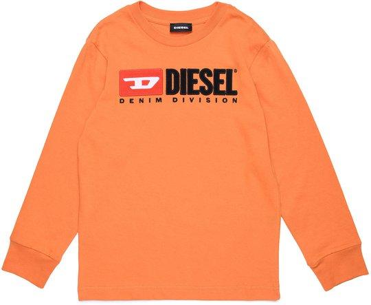 Diesel Tjustdivision Ml T-Shirt, Harvest Pumpkin 10 År