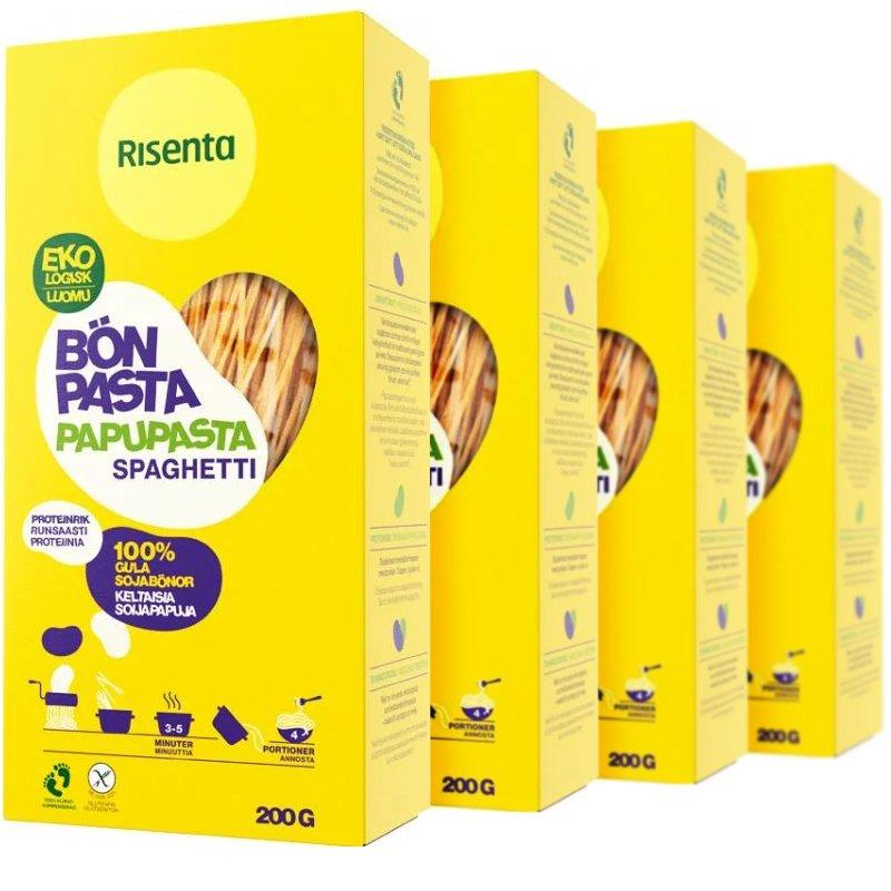 Eko Bönpasta Spaghetti 4-pack - 29% rabatt