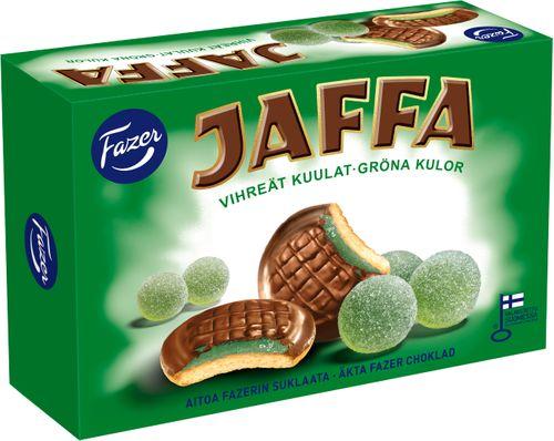 Fazer Jaffa Kex med Grönkulor 300g