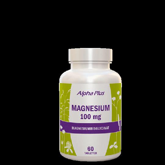 Magnesium 100 mg, 60 tabletter