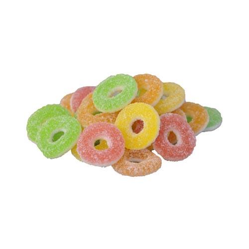 Syrliga Fruktringar - 1.6 kg