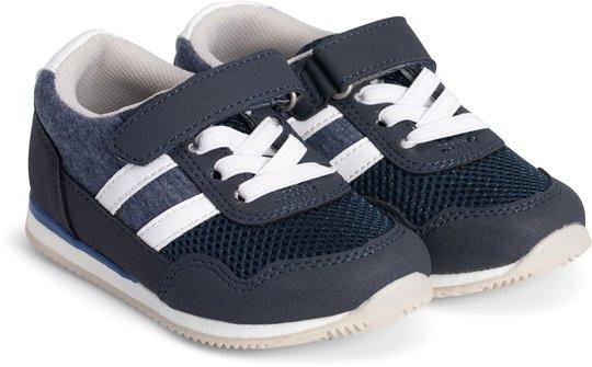 Little Champs Bounce Baby Sneaker, Dark Blue 20