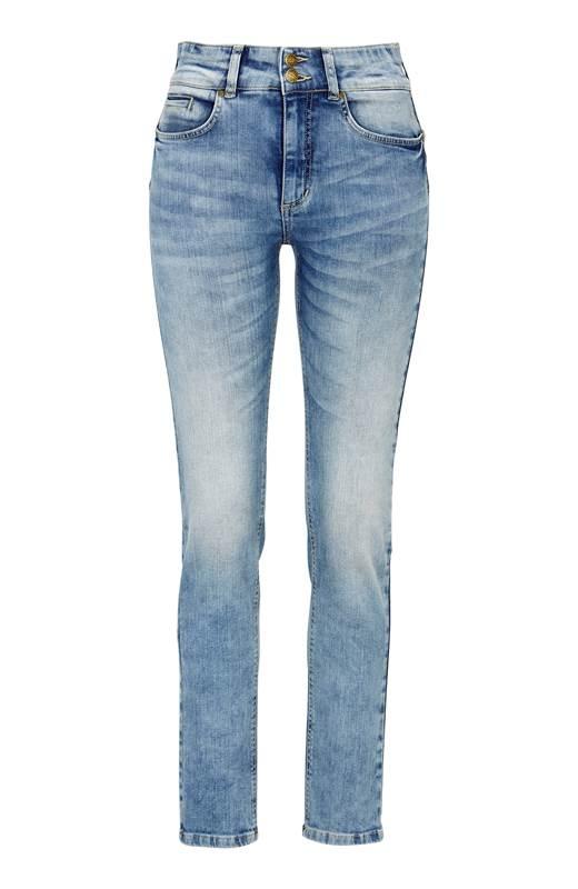 Cellbes Rak push up jeans Selena Ljusblå