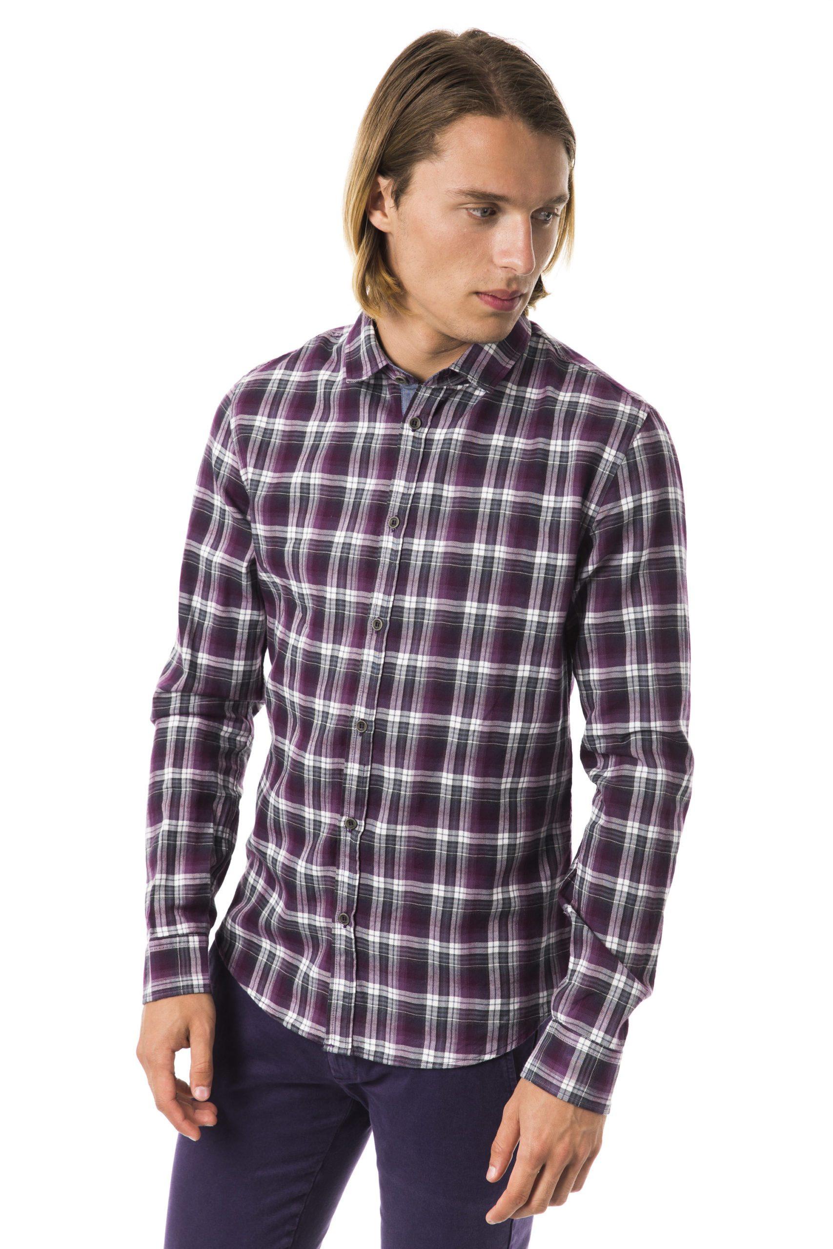 BYBLOS Men's Viola Shirt Violet BY1394849 - M