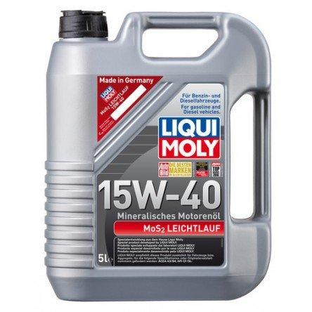 Moottoriöljy LIQUI MOLY MOS2 LOW-FRICTION 15W40 5L