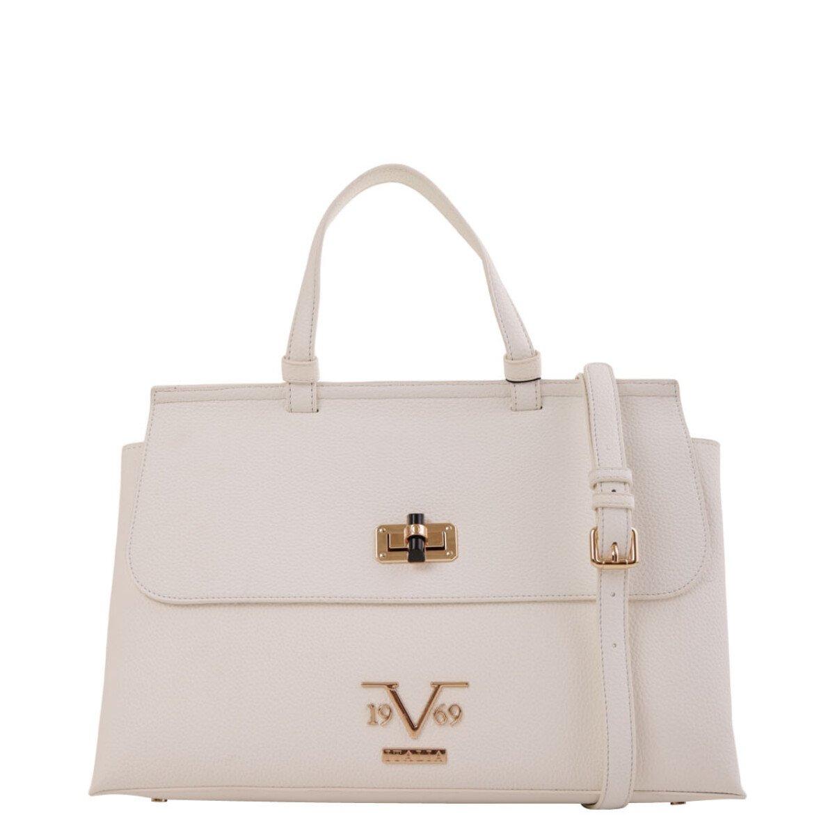 19v69 Italia Women's Handbag Various Colours 318989 - white UNICA