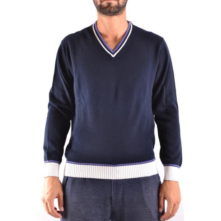 Ballantyne Men's Sweater Blue 160860 - blue 48