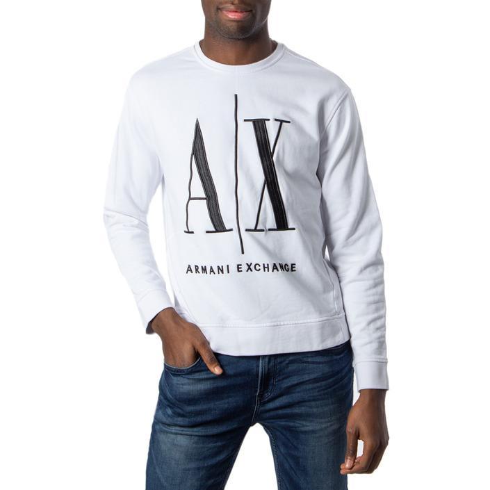 Armani Exchange Men's Sweatshirt White 170456 - white XS