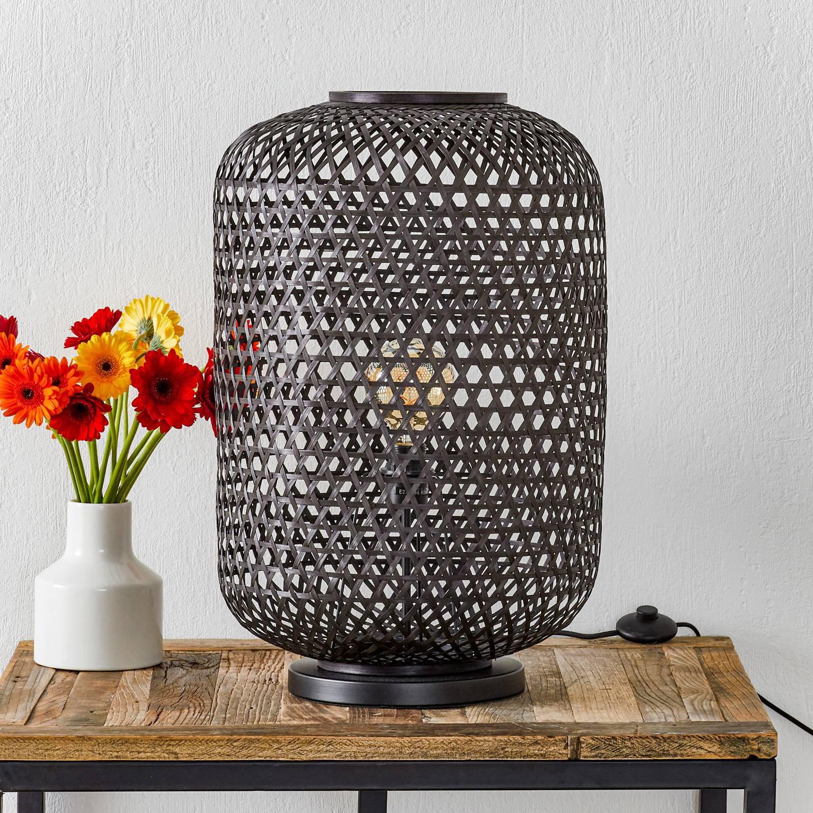 Schöner Wohnen Calla-gulvlampe, svart, 63 cm