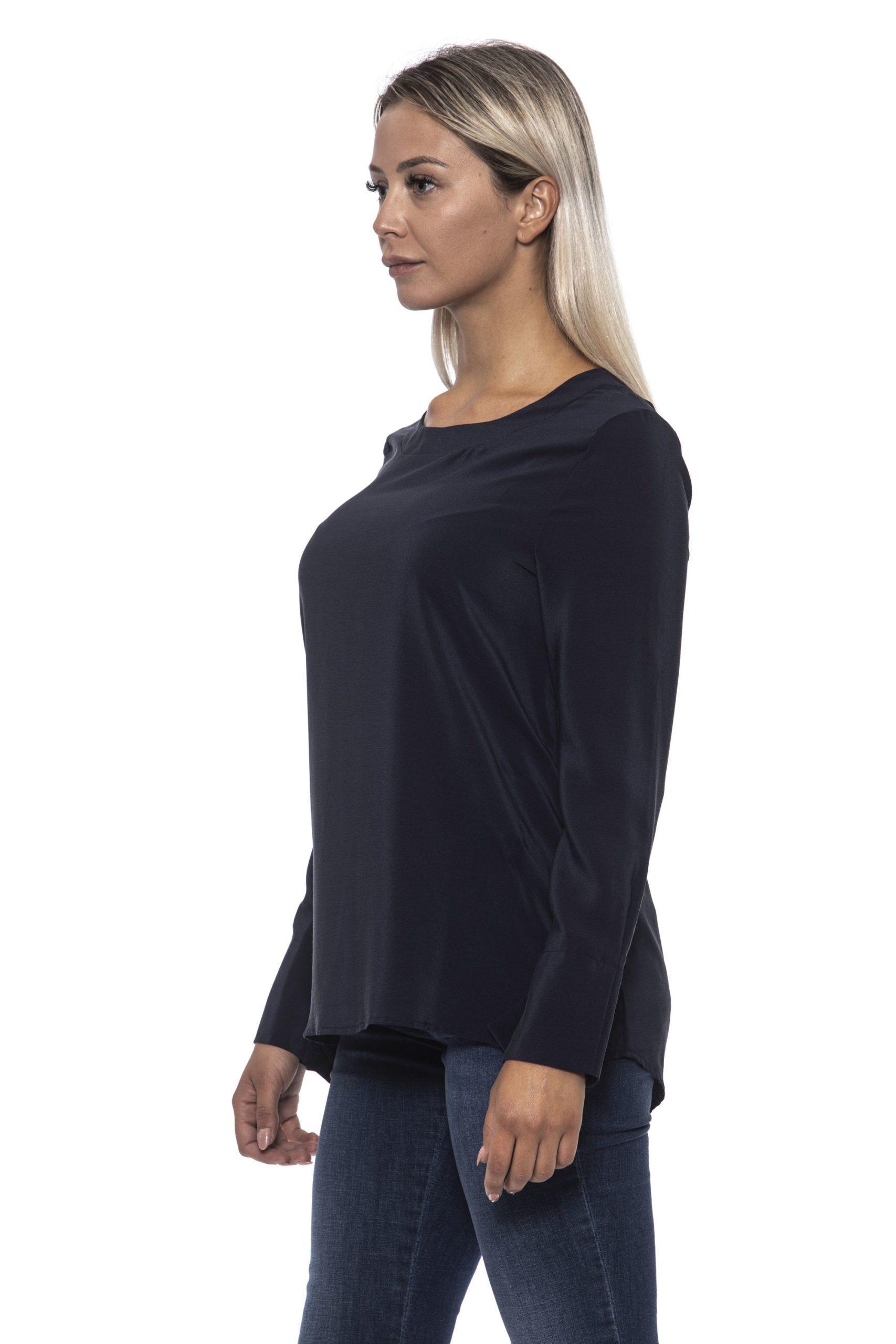 Alpha Studio Women's Blunotte Sweater Blue AL1192246 - IT42   S