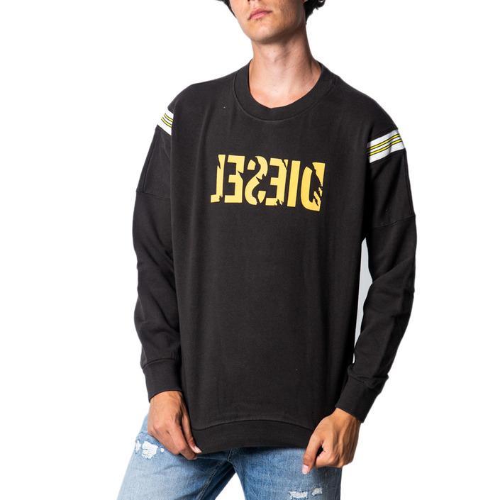 Diesel Men's Sweatshirt Black 175448 - black XL
