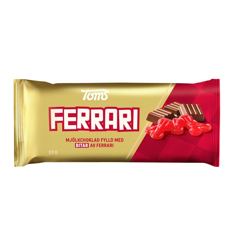 Mjölkchoklad Ferrari - 20% rabatt