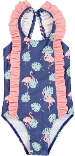 Geggamoja UV-Badedrakt UV50+, Flamingo, 86-92