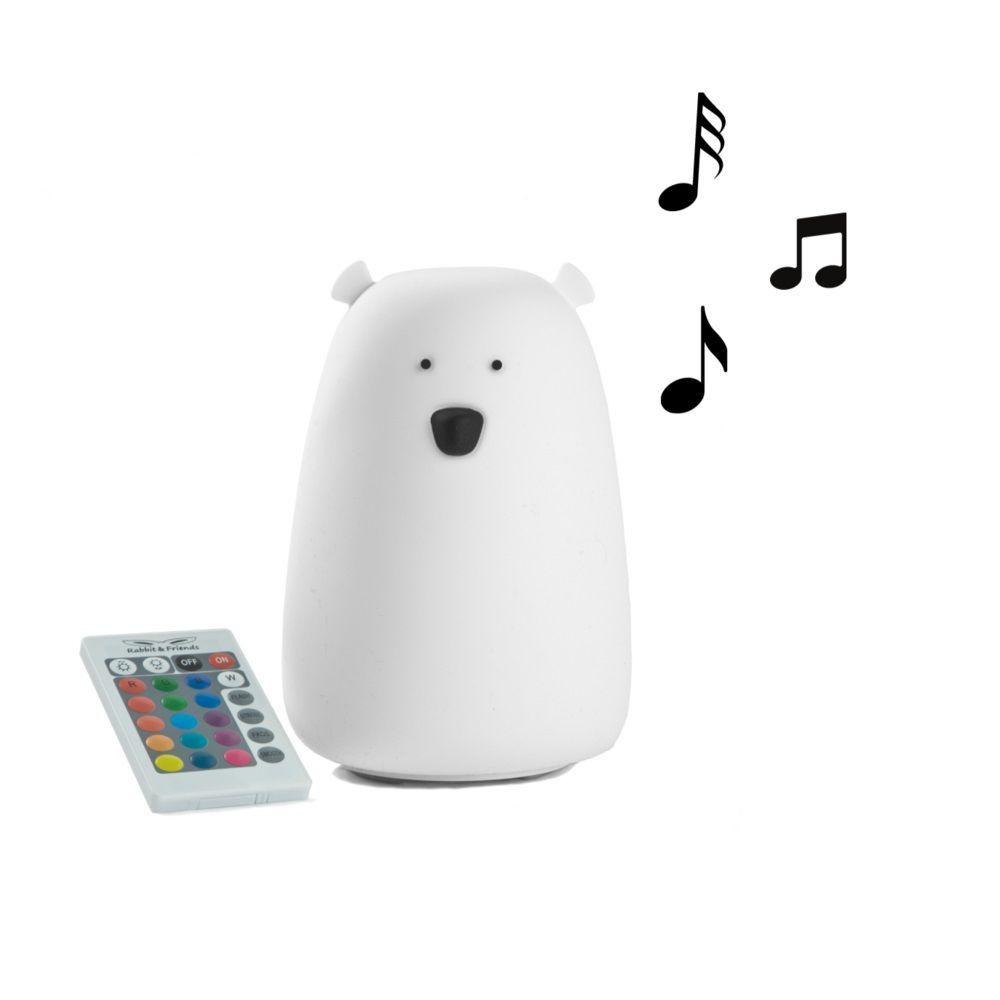 Rabbit & Friends Bluetooth-Lampa, Björn