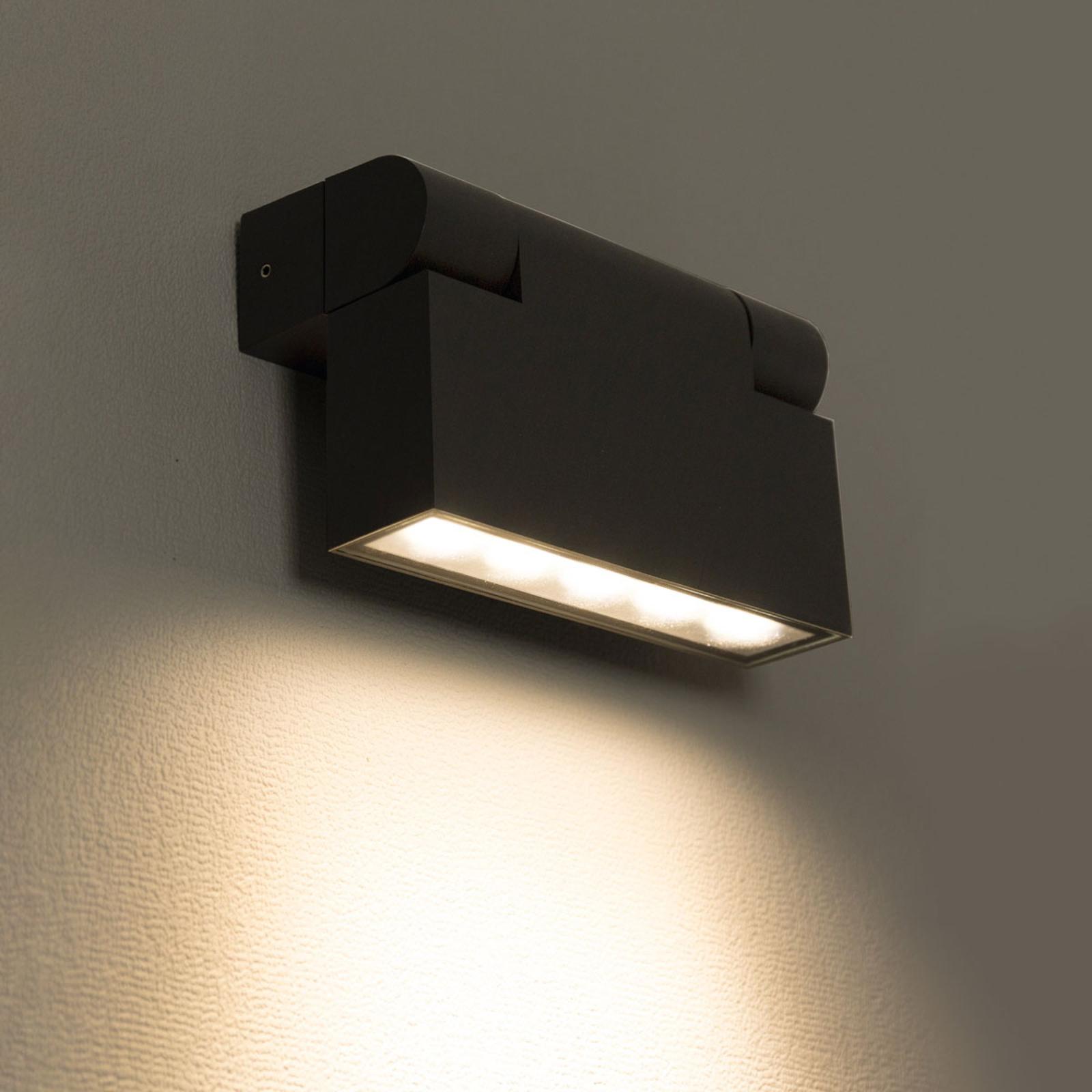 Käännettävä LED-ulkoseinälamppu Giro