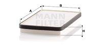 Raitisilmasuodatin MANN-FILTER CU 2650