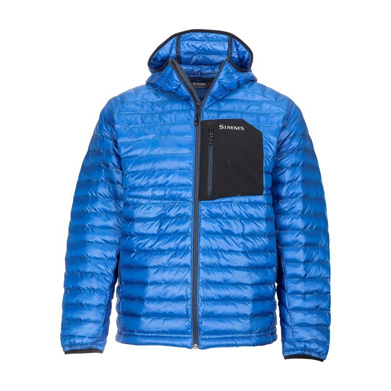 Simms Exstream Hooded Jacket L Rich Blue
