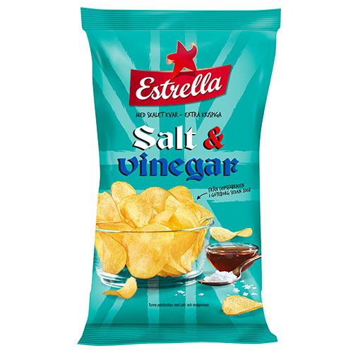 Salt Vinäger chips 175g