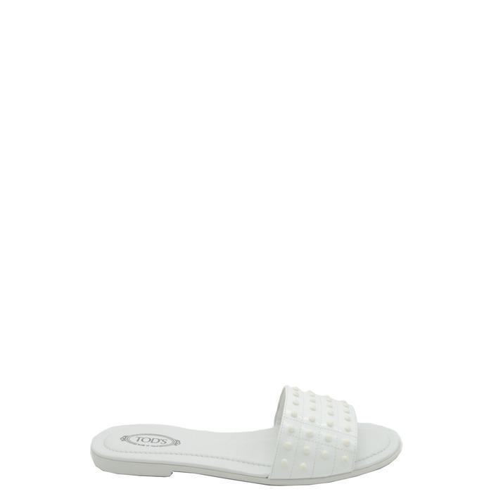 Tod`s Women's Slipper White 166643 - white 41